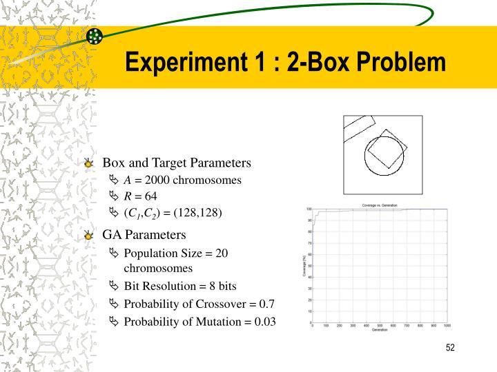 Box and Target Parameters