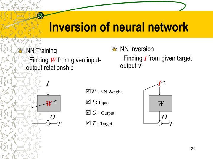 NN Training