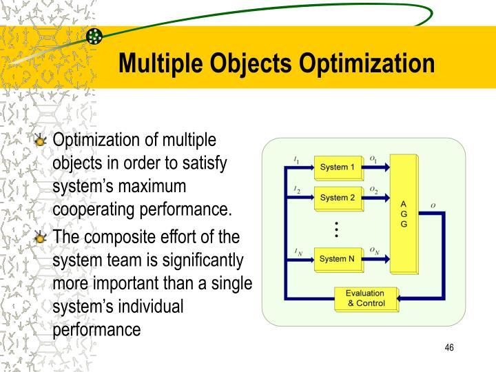Multiple Objects Optimization