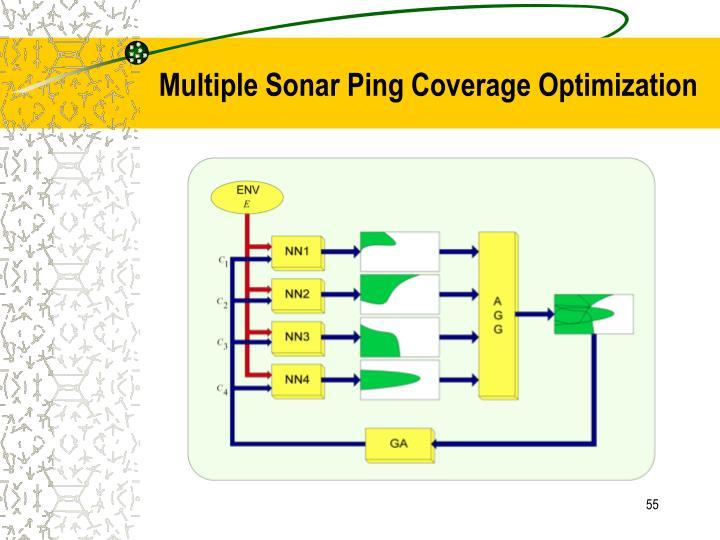 Multiple Sonar Ping Coverage Optimization