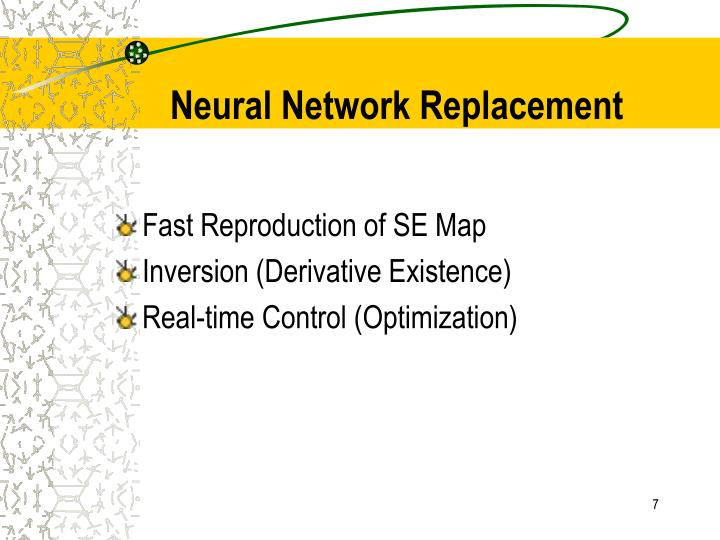 Neural Network Replacement