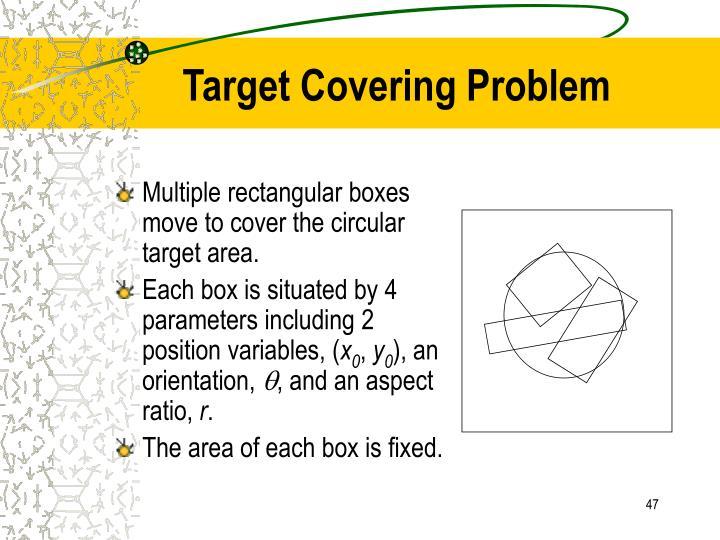 Target Covering Problem