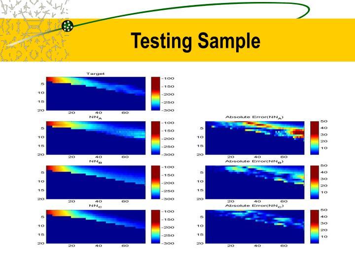 Testing Sample