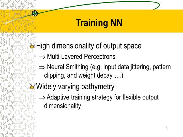 Training NN