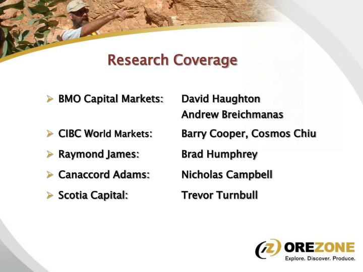 Research Coverage