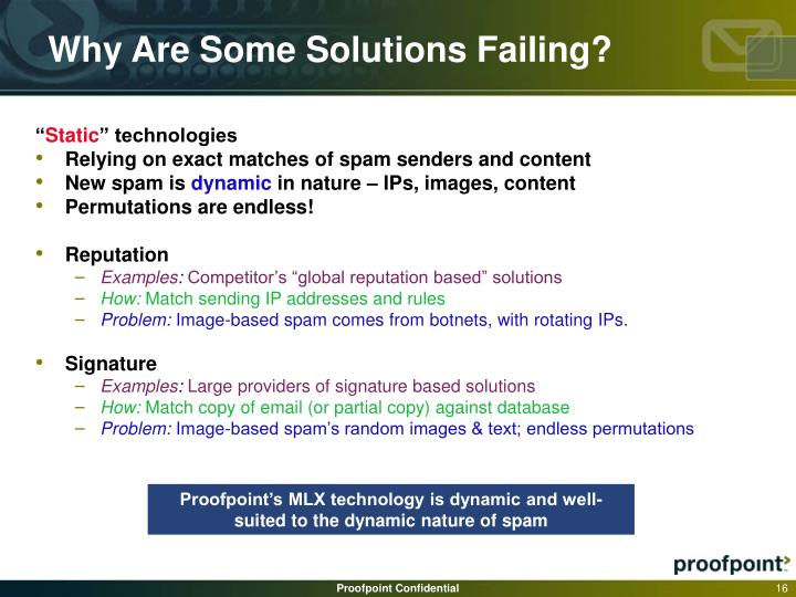 Why Are Some Solutions Failing?
