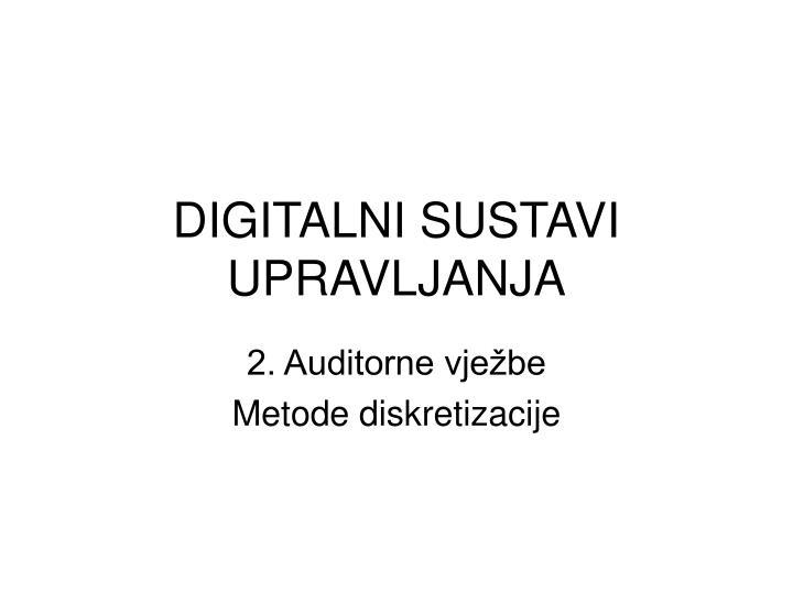 digitalni sustavi upravljanja