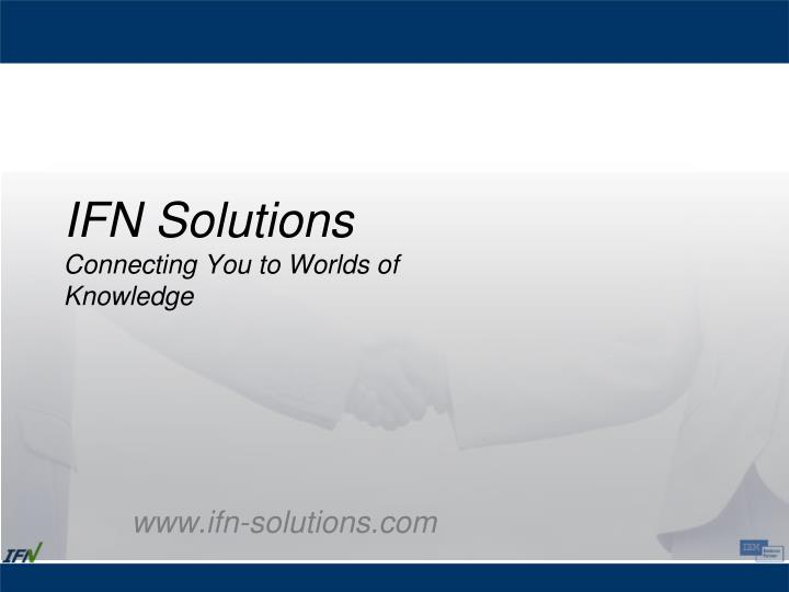 IFN Solutions