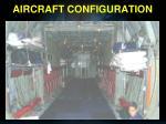 aircraft configuration