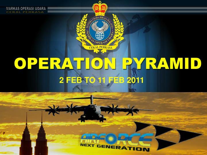 operation pyramid n.