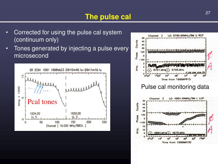 The pulse cal