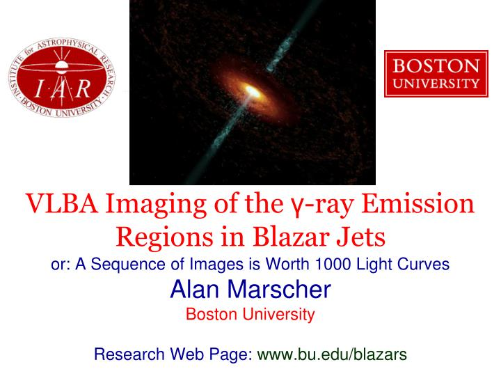 Vlba imaging of the ray emission regions in blazar jets