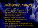 mannesmann vodafone