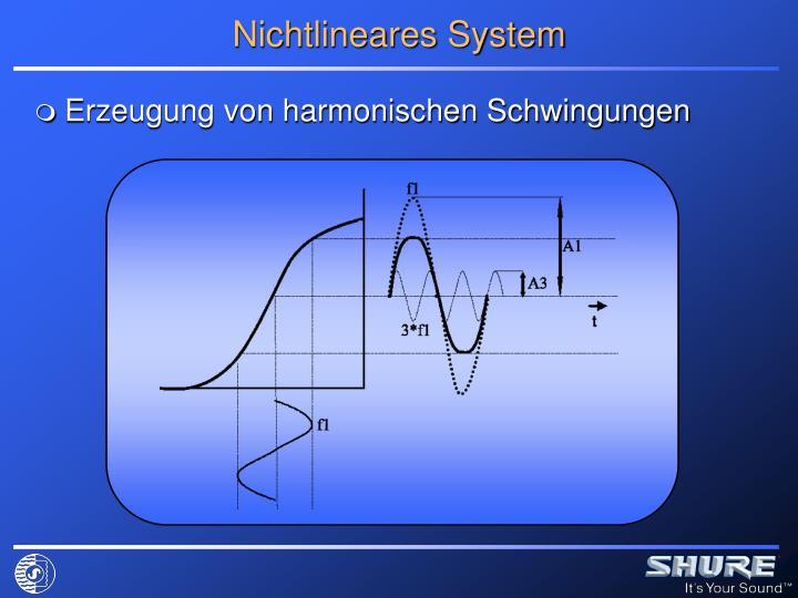 Nichtlineares System