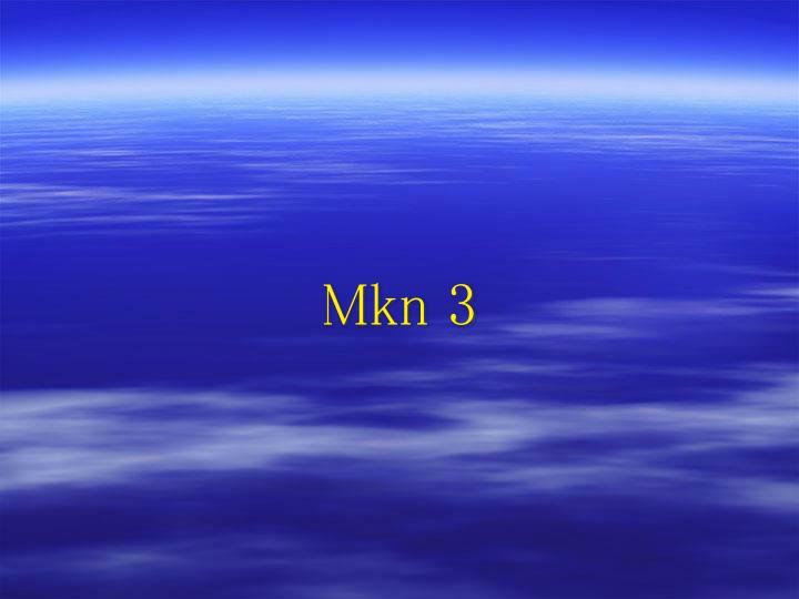 Mkn 3