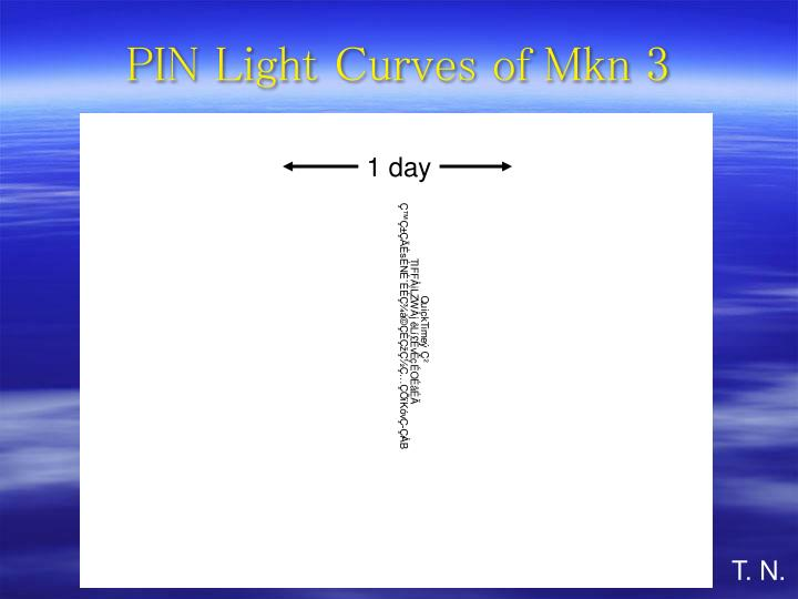 PIN Light Curves of Mkn 3