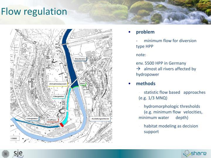 Flow regulation