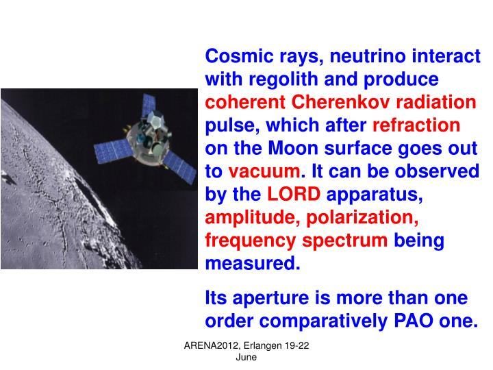 Cosmic rays, neutrino interact with regolith and produce