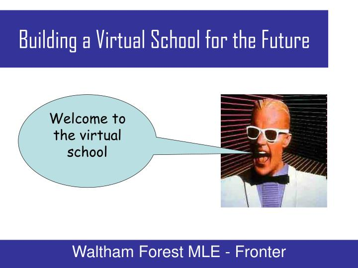 Building a virtual school for the future1