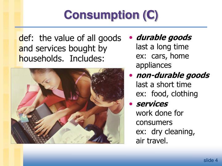 Consumption (