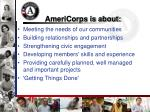 americorps is about