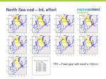 north sea cod int effort