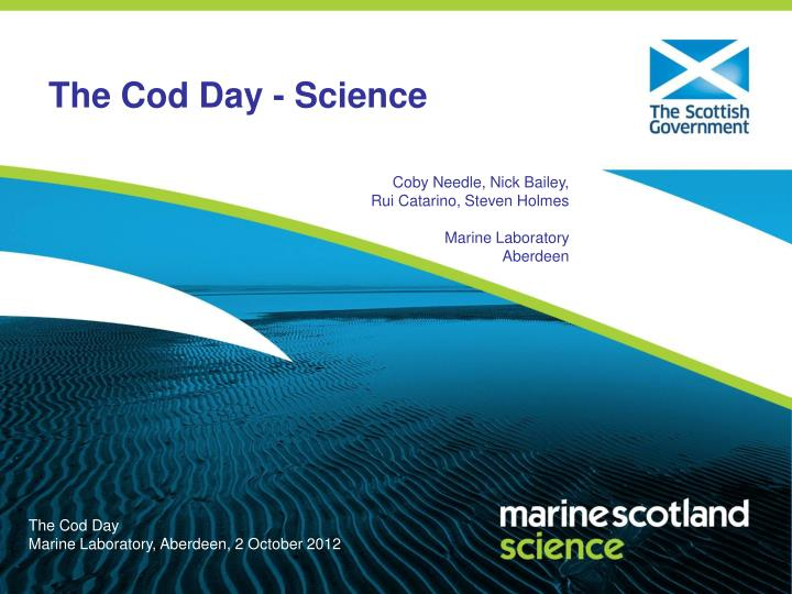the cod day science n.