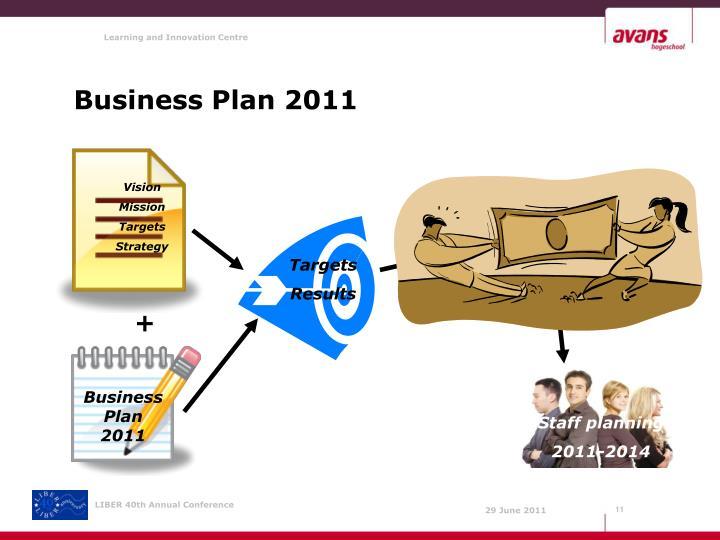 Business Plan 2011