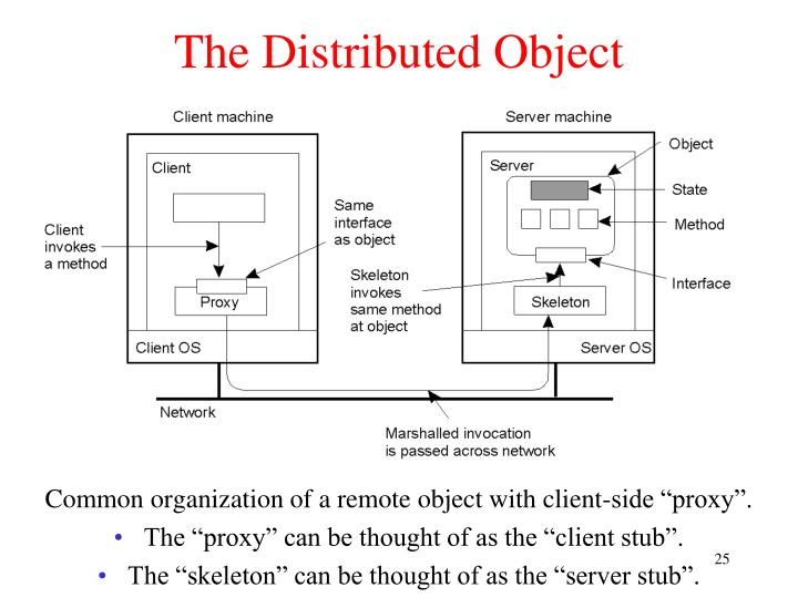 The Distributed Object