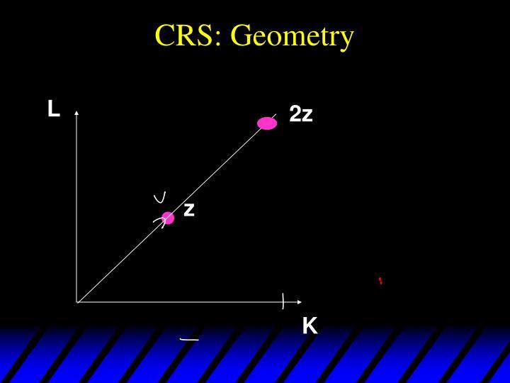 CRS: Geometry