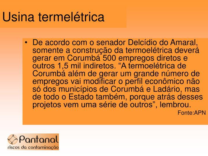 Usina termelétrica