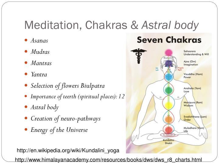 Meditation, Chakras &