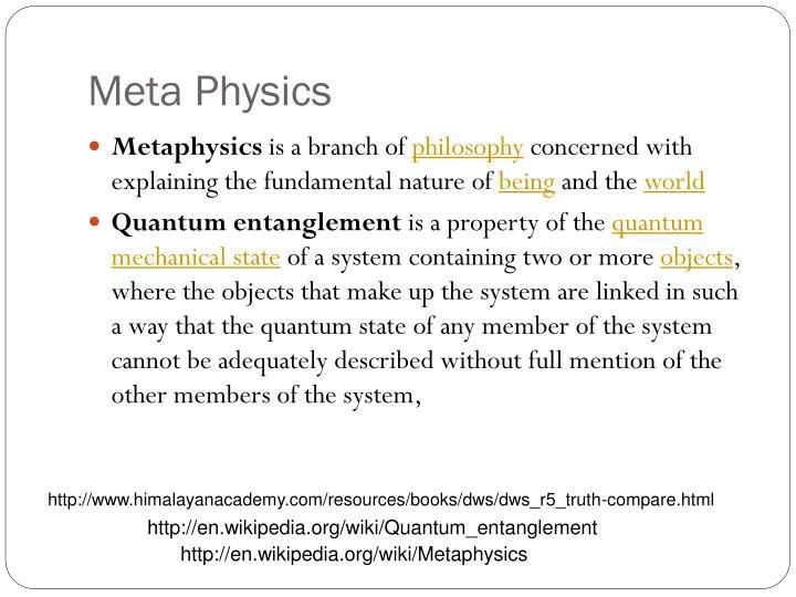 Meta Physics