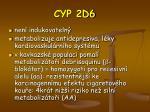 cyp 2d6