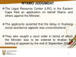 ntamo judgment