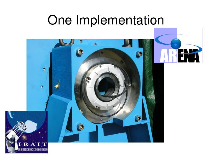 One Implementation
