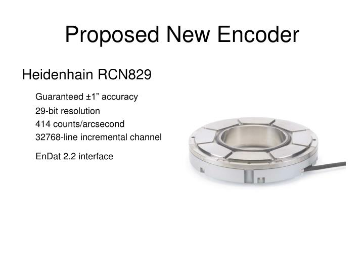 Proposed New Encoder
