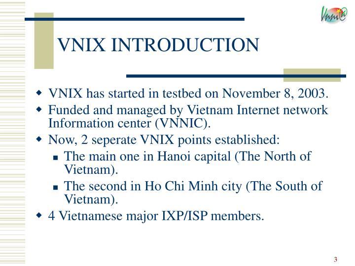 Vnix introduction1