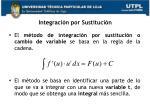integraci n por sustituci n