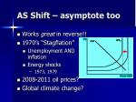 as shift asymptote too