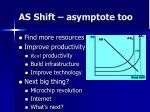 as shift asymptote too1
