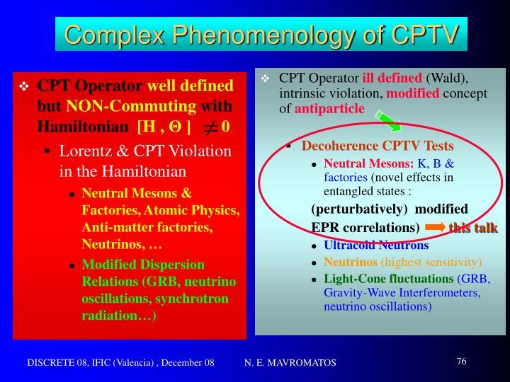 CPT Operator