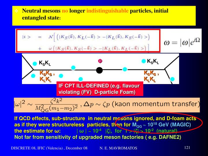 Neutral mesons