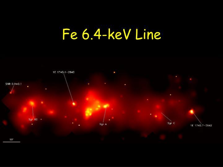 Fe 6.4-keV Line