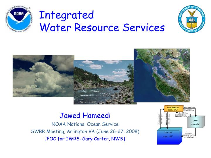 Integrated water resource services