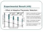 experimental result 4 6