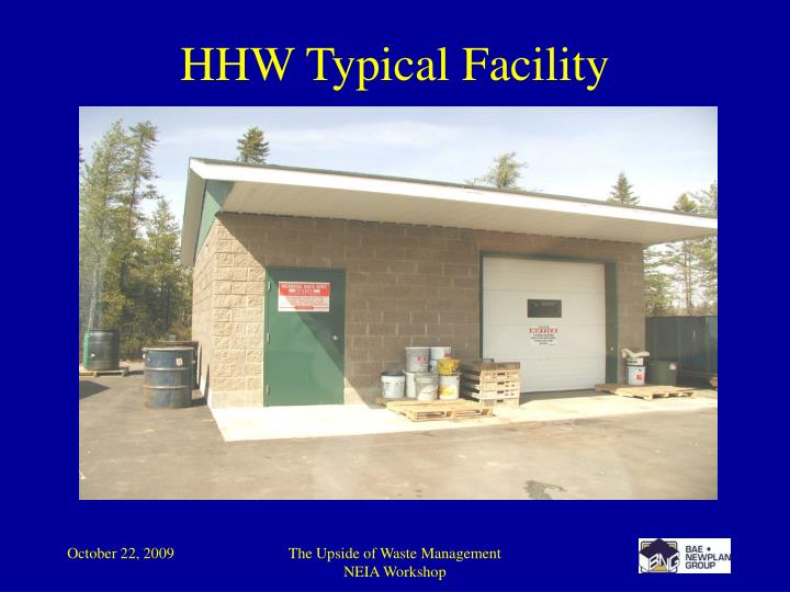 HHW Typical Facility