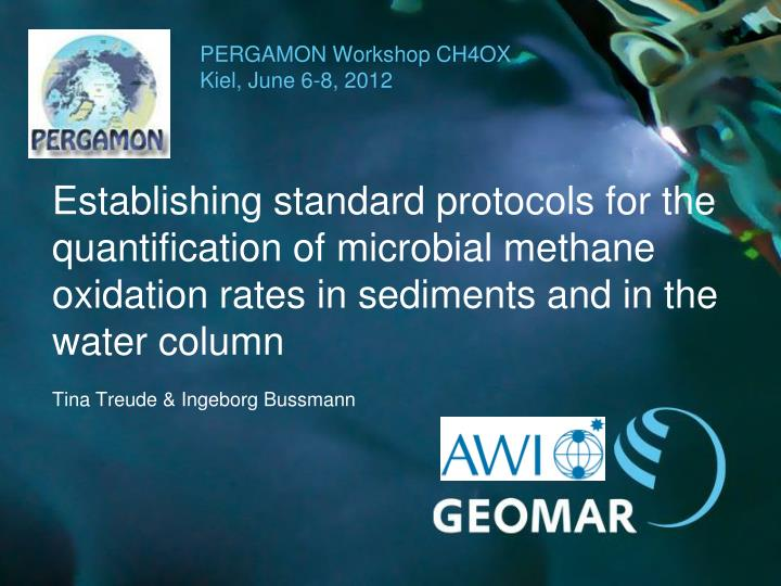 pergamon workshop ch4ox kiel june 6 8 2012 n.