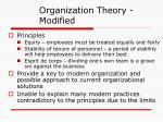organization theory modified2