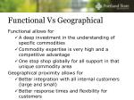 functional vs geographical